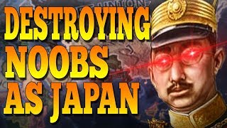 Download WHAT HAPPENS WHEN TOMMY JOINS A NOOB GAME AS JAPAN? - HOI4 Multiplayer Video