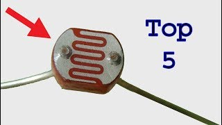 Download Top 5 useful LDR projects, very easy electronics diy projects Video