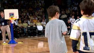Download Georgia Tech Halftime Slam Dunk Contest Video
