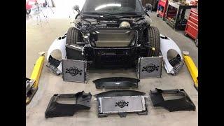 Download REBUILDING A WRECKED PORSCHE TURBO S X GT2 RS CONVERSION PART 2 Video