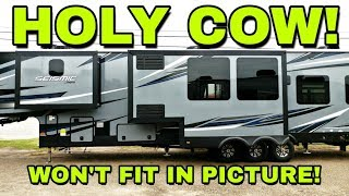 Download Huge TOY HAULER from Jayco! The SEISMIC! Must see Video