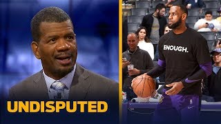 Download Rob Parker reacts to LeBron saying he almost 'cracked' during this season | NBA | UNDISPUTED Video