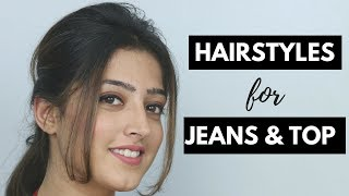 Download 2 Easy Hairstyles for Jeans and Top (Hindi) Video