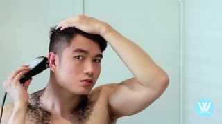 Download HOW TO CUT YOUR OWN HAIR | HAIRCUT TUTORIAL | BEST MODERN POMPADOUR | WEZSTYLES Video