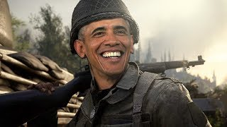 Download President Barack Obama Plays COD WW2! (Voice Troll) Video
