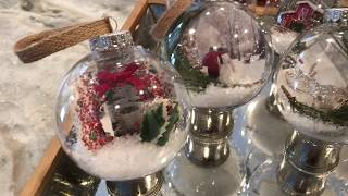 Download DIY Dollar Store Christmas Scenery Ornaments 2018 Video
