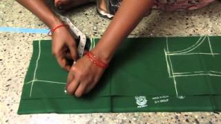 Download Blouse cutting with measurements in telugu Video