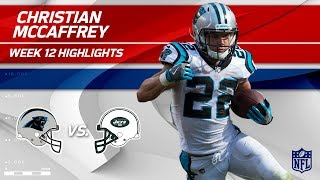 Download Christian McCaffrey's 97 Yards on 9 Touches vs. NY! | Panthers vs. Jets | Wk 12 Player Highlights Video