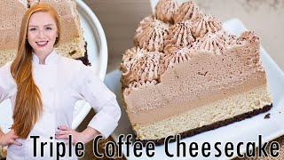Download Triple Coffee Cheesecake Video