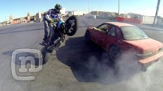 Download Tuerck'd Drifts Las Vegas— Missile Cars, Tandem Drifting, Parties & Truck Jumping Video