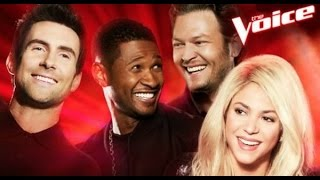 Download Top 9 Blind Audition (The Voice around the world IX) Video