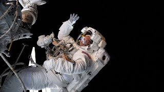 Download NASA Astronauts Spacewalk Outside the International Space Station on Oct. 6, 2019 Video