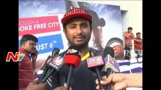 Download Make Hyderabad Narcotics-Free City Says Ambati Rayudu || Wheelathon 2k17 || NTV Video