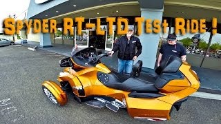 Download 2014 Spyder RT Limited Cognac Test Ride! | TestRides Video