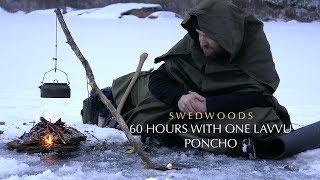 Download 60 h Winter Bushcraft - No Cordage A-Frame Bucksaw - One Lavvu Canvas Poncho - No Food Video