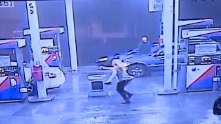 Download Student Escapes Kidnapper After He Hopped Into Her Car at Gas Station Video