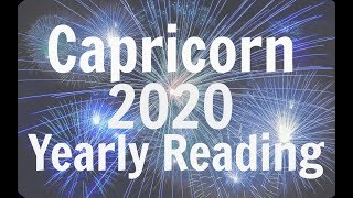 Download CAPRICORN YEARLY FORECAST ** 2020 ** YOUR TIME IS COMING! BEST YEAR EVER! Video