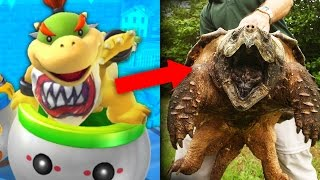 Download 11 NINTENDO CHARACTERS THAT EXIST IN REAL LIFE! Video