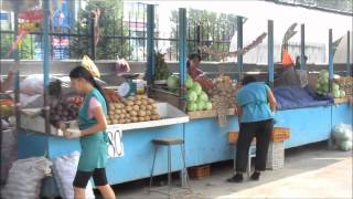 Download Food Market in Almaty, Kazakhstan (market scenes) Video