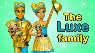 Download SWTAD LOL Families ! The Luxe Family Plays Hide & Seek | Toys and Dolls Fun Pretend Play for Kids Video