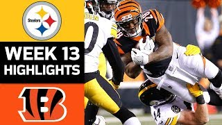 Download Steelers vs. Bengals | NFL Week 13 Game Highlights Video