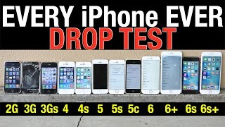 Download iPhone 6S Plus vs 6S vs 6 Plus vs 6 vs 5S vs 5C vs 5 vs 4S vs 4 vs 3Gs vs 3G vs 2G Drop Test! Video