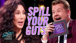 Download Spill Your Guts or Fill Your Guts w/ Cher #LateLateLondon Video