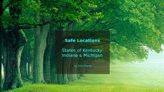 Download Safe locations for states Kentucky, Indiana and Michigan. Video