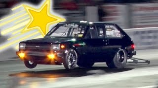 Download WORLD RECORD Rotary Powered Toyota Starlet!!! Video