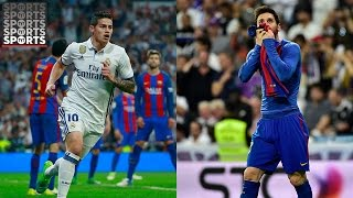 Download Real Madrid vs. Barcelona Fan Reactions [Messi's Stunner, Ramos Red Card and More!] Video