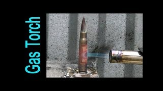 Download Bullet vs Gas torch Video