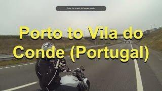 Download Porto to Vila do Conde (Portugal) Video