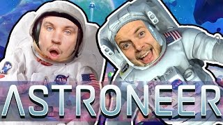 Download WORLD'S GREATEST ASTRONAUTS! - ASTRONEER GAMEPLAY! #1 - W/AshDubh Video