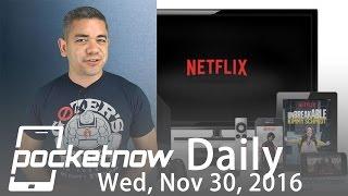 Download Apple vs Samsung lawsuit winner for $120M, Netflix downloads & more - Pocketnow Daily Video