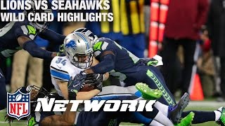 Download Lions vs. Seahawks Wild Card Game Highlights with Deion Sanders & LT | NFL Network | GameDay Prime Video