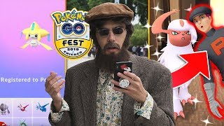 Download JIRACHI RESEARCH & TEAM ROCKET IN POKÉMON GO! (GO Fest 2019) Video