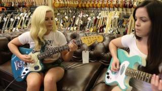 Download The Surfrajettes stops by Norman's Rare Guitars Video