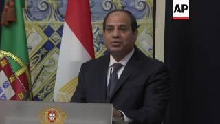 Download Egypt President el-Sissi visits Portugal Video