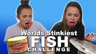 Download Stinky Fish Challenge - Merrell Twins Video
