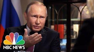 Download Confronting Russian President Vladimir Putin, Part 1 | Megyn Kelly | NBC News Video