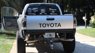 Download Tacoma 4.0 Exhaust - Flowmaster 40 Series - Magnaflow Tips - K&N CAI Video