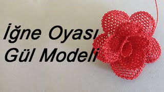 Download EV HANIMI # İğne Oyası: Gül Modeli Video