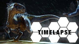 Download Indoraptor - sculpting, texturing, rigging(Blender & Substance Painter Timelapse) Video