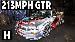 Download 213mph Blitz R34 Skyline GTR: The Infamous Autobahn Legend! Video