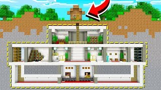 Download BUILDING THE BEST DIRT HOUSE IN MINECRAFT! Video