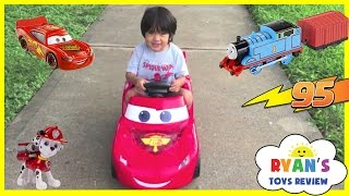 Download Top Playtime at the Park playground Complications with Disney Cars Power Wheels Video