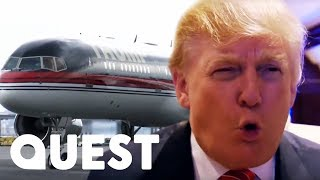 Download Inside Donald Trump's Hundred Million Dollar Private Plane! | Mighty Planes Video