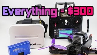 Download How to get FPV DRONE RACING for under $300! Parts +Full setup. Video