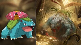 Download Pokemon Characters as Monsters 2017! 😱 Video