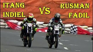 Download Road Race Purbalingga 2018 ; MERINDING LIAT DUEL SERU ITANG VS RUSMAN DI KLS SPORT 2T STD 140 CC OPE Video